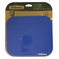 Fellowes Mouse Pad Rubber Base Blue 58021-06