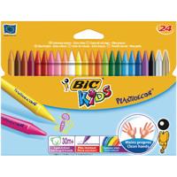 Bic Plastidecor Crayons (Pack of 24) 829772