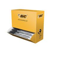 Bic Cristal Medium Ballpoint Black Pen (Pack of 100) 896040
