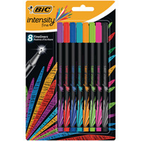 Bic Intensity Fineliner Pens Assorted 942075