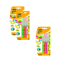 BIC 4 Highlighter Flex Assorted Colours (3 Packs of 12) BC810737