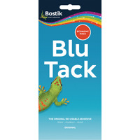 Bostik Blu-Tack Economy (Pack 110g (Pack of 12) 80108