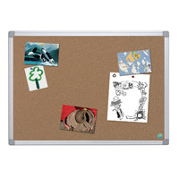 Bi-Office Earth-It Aluminium Frame Cork Board 900x600mm CA031790