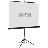 Bi-Office Black 1750mm Tripod Projection Screen 9D006021