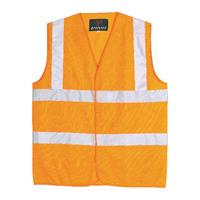 Proforce Class 2 Extra Large Orange High Visibility Vest HV05OR-XL