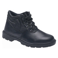 Briggs Proforce Toesavers S1P Black Safety Chukka Boot Mid-Sole Size 7 2415-7