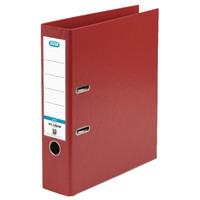Elba A4 Red Plastic Lever Arch File 1450-09