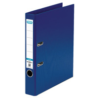 Elba A4 Blue 50mm Plastic Lever Arch File 1451-01