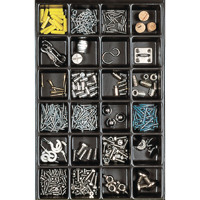 Bisley Multi Drawer Insert Tray Plastic 51mm High 24 Compartments BY00619