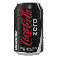 Coke Zero Soft Drink 330ml Can 402003 (Pack of 24)