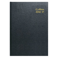 Collins A5 Day Per Page Appointments 2015/16 Academic Diary Assorted 52M