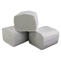 2Work White Recycled Bulk Pack 2 Ply Toilet Tissue 250 Sheets (Pack of 36) T34434