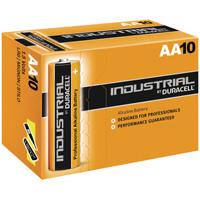 Duracell Industrial AA Alkaline Batteries 81452400 (Pack of 10)