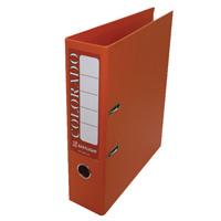 Rexel Colorado 80mm Orange A4 File (Pack of 10) 28146EAST