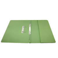 Rexel Green Jiffex Foolscap Pocket File (Pack of 25) 43314EAST