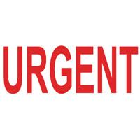 COLOP Green Line Word Stamp URGENT Red C144837URG