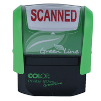 COLOP Green Line Word Stamp SCANNED P20GLSCA