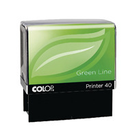 COLOP Printer 40 Green Line Privacy Stamp C144841ID