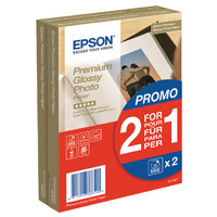 Epson Premium Glossy Photo Paper 100x150mm 2-for-1 (Pack of 40 + 40 Free) C13S042167