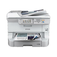 Epson Black WorkForce Pro WF-8510DWF A3+ Multifunctional Inkjet Printer C11CD44301BY