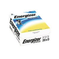 Energizer Advanced E95 D Batteries (Pack of 20) E300488200