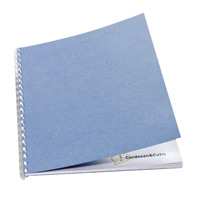GBC PolyTechno Binding Covers 700 micron A4 Textured White 50 Pack