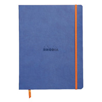 Rhodiarama Soft Cover 190x250mm 160 Pages Sapphire Notebook 117508C