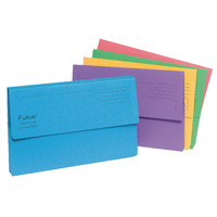 Guildhall Forever Bright Assorted Document Wallet Pack of 25 211/5000