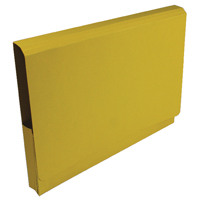 Guildhall Yellow Pocket Legal Wallet (Pack of 25) 211/8003