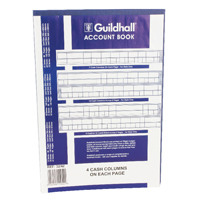 Guildhall Account Book 160 Pages 4 Cash Columns 32/4 1054