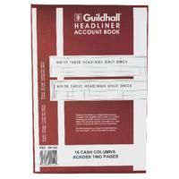 Guildhall Headliner 16 Column Account Book 38/16 1152