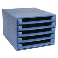 Forever Blue 5-Drawer Set 221101D