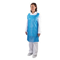 Shield Blue Disposable Aprons in Dispenser (Pack of 1000) A2/B