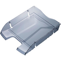 Helit PET Recycled Letter Tray Grey H2363508