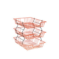 Wire Filing Tray A4 Red 999RE