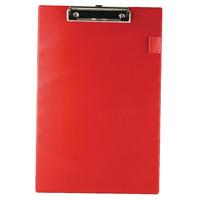 Rapesco A4/Foolscap Red Clipboard VSTCBOR3