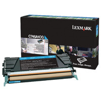 Lexmark Cyan Return Program Toner Cartridge C746A1CG