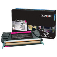 Lexmark Magenta Return Program Toner Cartridge C746A1MG