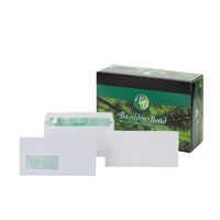 Basildon Bond DL Envelopes Peel and Seal 120gsm White C80116 With Garden Voucher Prize Draw