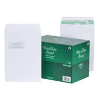 Basildon Bond C4 Envelopes 120gsm Peel and Seal (Pack of 250) M80120 With Garden Voucher Prize Draw