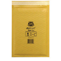 Jiffyreg AirKraftreg Mailer Size 1 170 x 245mm Gold Pack of 10 MMUL04603