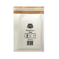 Jiffy Mailmiser Size 0 140x195mm White (Pack of 100) Jmm-WH-0