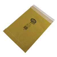 Jiffy Padded Bag Size 1 165x280mm Gold (Pack of 10) 1216
