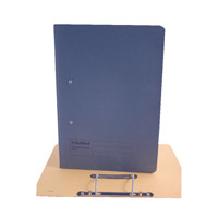 Guildhall Foolscap Blue Transfer File Pack of 25 346-BLUZ