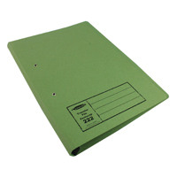 Guildhall Foolscap Green Transfer File Pack of 25 346-GRNZ