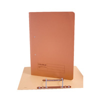 Guildhall Foolscap Orange Transfer File Pack of 25 346-ORGZ