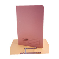 Guildhall Foolscap Pink Transfer File Pack of 25 346-PNKZ