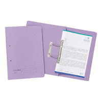 Guildhall Foolscap Mauve Transfer File Pack of 25 346-MVEZ