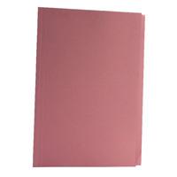 Guildhall Foolscap Pink Mediumweight Square Cut Folder Pack of 100 FS250-PNKZ