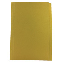 Guildhall Foolscap Yellow Mediumweight Square Cut Folder Pack of 100 FS250-YLWZ